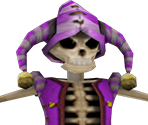 Jester Skeleton