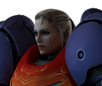 Samus (Gravity Suit, Helmetless)