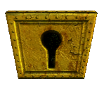 Gold Key Pad