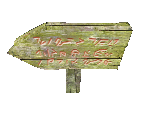 Wooden Arrow Sign