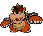 Paper Bowser (Second Form) Trophy