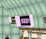 Bogey's Cafe - Cafe Room