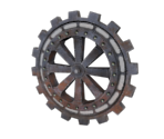 Clock Gears Solid