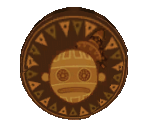 Bronze Chocolate Coin