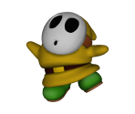 Yellow Shy Guy Trophy