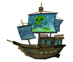 Flying Dutchman's Ship