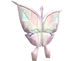 "004 Butterfly ""Carefree Guide"" (Silver)"