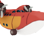 Scrooge McDuck's Sun Chaser Plane