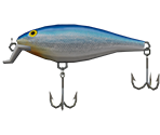 Shallow Shad Rap - Blue
