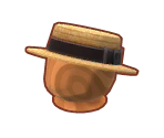 Straw Boater