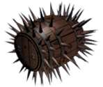 Spiky Barrel