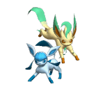 Glaceon & Leafeon Trophy