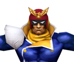 Captain Falcon (Low-Poly)