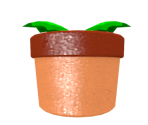 Potted Piranha Plant
