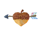 Heart-Shaped Acorn