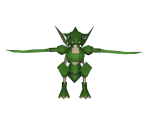 Scyther (Low Poly)
