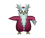 Delibird (Low Poly)