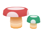 Mushroom-Table Set