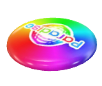 Rainbow Flying Disc