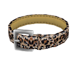 Faux-Leopard Collar