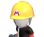 Builder Mario's Outfit