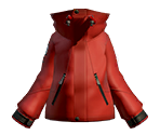 Chili-Pepper Ski Jacket