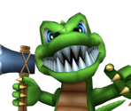 Toon Alligator