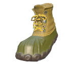 Tea-Green Hunting Boots