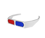 Retro 3D Glasses