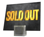 Sold Out Sign (GracieGrace)
