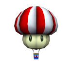 Mushroom Hot Air Balloon