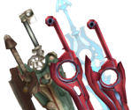 Shulk's Weapons