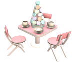 Lola Macarons Table