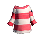 Pink Easy-Stripe Shirt