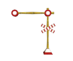Railroad Crossing Stand