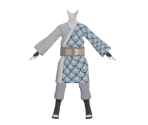 Mitsuki Outfit (Blue Scales)