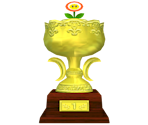 Flower Cup Trophy