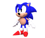 Sonic (90's American Render Recreation)