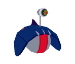 Floating Zurg Robot