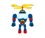 Flying Zurg Robot