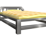 Male Player's Bed
