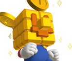 Mario (Gold Block) Trophy