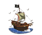 Pirate Ship Trophy