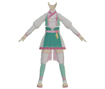 Custom Ninja Outfit: Healing-Type (Love Lotus)