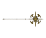 Golden Long Staff