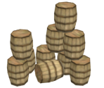 Stacked Barrels