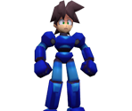 Mega Man (No Helmet)