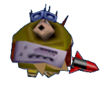 Hedgehog Mercenary