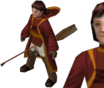 Gryffindor Female Quidditch Player