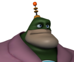 Captain Qwark (Bathrobe)